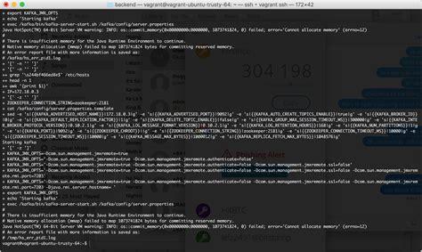 kafka docker container  run  virtual machine