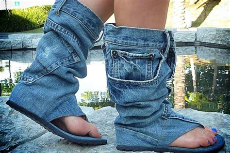 Are These Jean Sandal Boots The Ugliest Shoes Ever?