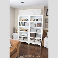 Craft Room Storage With Limited Space  Hawthorne And Main