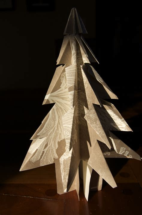 how to make folded paper kirigami christmas trees 187 curbly diy design community