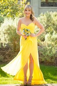 yellow bridesmaid dresses bright yellow bridesmaid dress ec 39 s invites