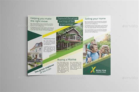 real estate tri fold brochure template csoforuminfo