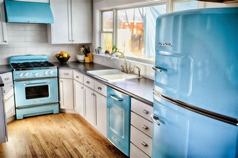 big chill colorful appliances home decorating trends