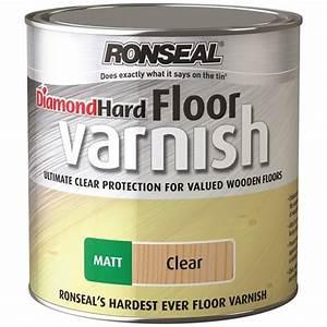 Ronseal diamond hard floor varnish matt 25 litre for Floor varnish matt
