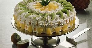 Torte Mit Früchten : sahnetorte mit fr chten rezept eat smarter ~ Lizthompson.info Haus und Dekorationen