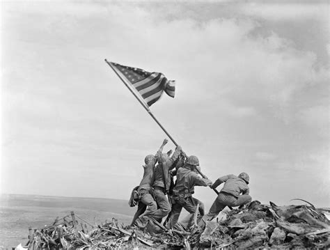 Group Seeks To Name Navy Ship For Iwo Jima Photographer