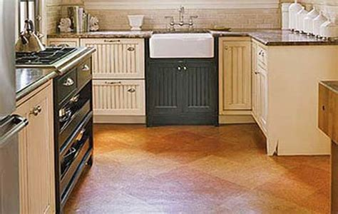 cork floor in kitchen pros and cons floor ideas categories cheap unfinished basement ideas 9818
