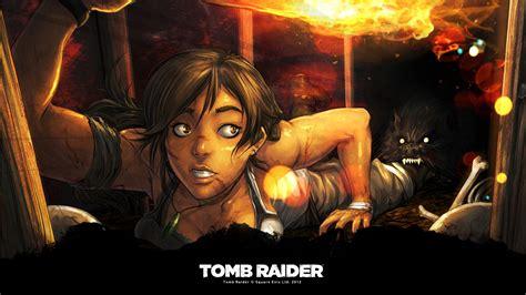 tomb raider art wallpapers hd wallpapers id