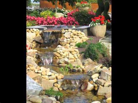 amenagement d un bassin naturel avec cascades d eau www conceptplan tes fr