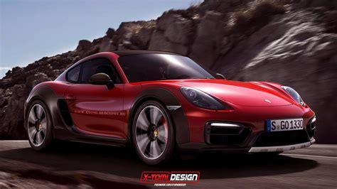 Rendering Porsche Cayman Safari