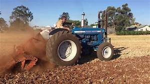 Ford 5000 Tractor Working