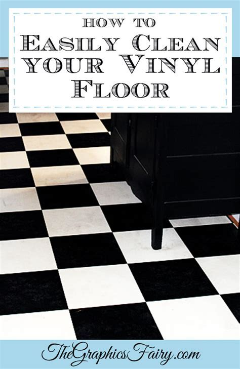 My Secret Tip  How to Clean Vinyl Floors   Easily!   The