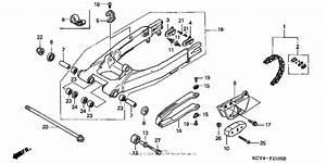 Swingarm For 1998 Honda Xr400