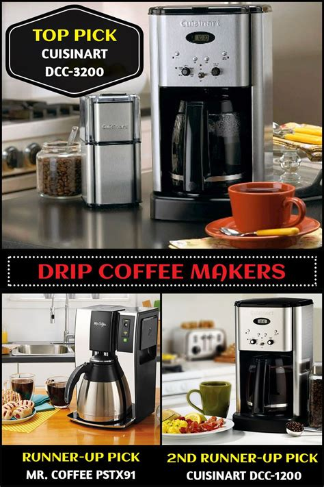 Cuisinart grind & brew automatic coffeemaker. Top 10 Drip Coffee Makers (Feb. 2020) - Reviews & Buyers Guide | Coffee maker, Coffee maker ...