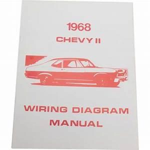 Jim Osborn Mp0107 1968 Chevy Ii  Nova Wiring Diagrams