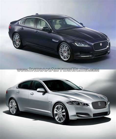 Jaguar Xf Length by 2016 Jaguar Xf Vs 2012 Jaguar Xf Vs New