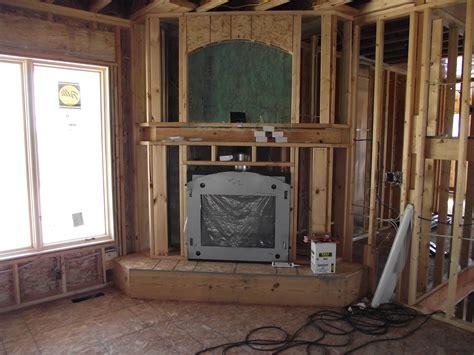 Corner Fireplace Installed Blog Post At Ownerbuilderbook