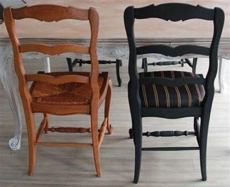 relooker une chaise en paille relooker des chaises en paille 28 images comment