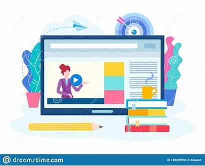 Seminar Internet Lesson Webinar Courses Teacher Young
