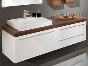 Aufsatzwaschtisch Mit Unterschrank : design badezimmerm bel set mit waschtischplatte und ~ Michelbontemps.com Haus und Dekorationen