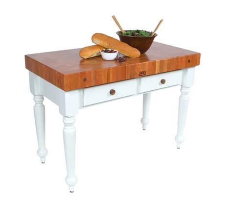 boos kitchen islands boos rustica kitchen island table w cherry top
