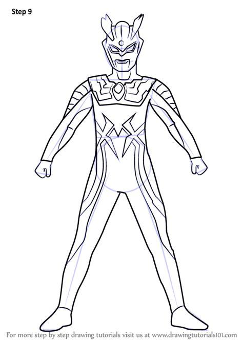 Coloring Ultraman Geed by Gambar Mewarnai Ultraman Geed