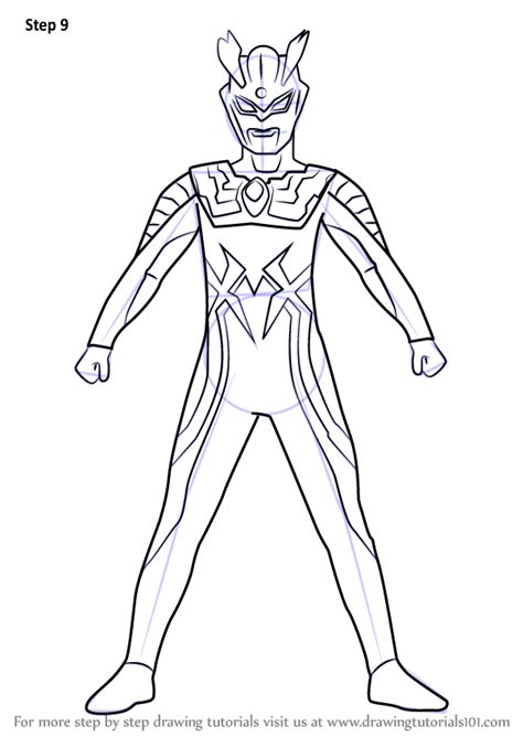 learn   draw ultraman  ultraman step  step