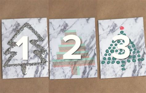 3 Ways To Decorate Christmas Tree Cards
