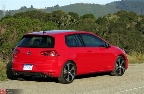 2015 Vw Gti 2door Exterior Rear1  The Truth About Cars