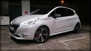 Peugeot 208 Blanche : vendue 208 gti nacr e ~ Gottalentnigeria.com Avis de Voitures