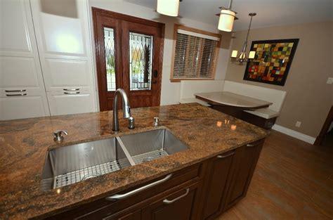 cuisine avec plan de travail en granit design en 3 dimensions