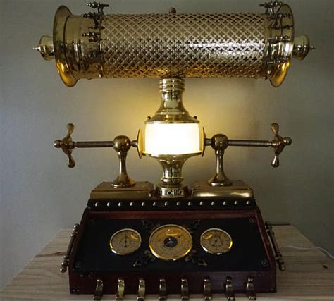 incredible industrial machine age steampunk lamps