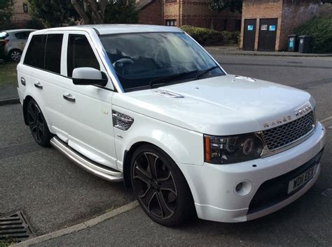 2011 White Range Rover Sport 5l Supercharged  In Dartford