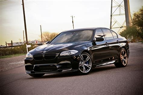 Black Bmw M5 by Black Bmw M5 Will Haunt Your Dreams Autoevolution