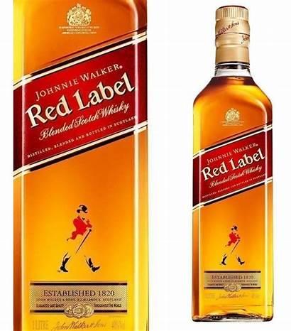 Walker Whisky Label Johnnie Litro