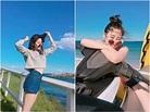 歐陽妮妮20歲轉大人 穿比基尼「前彎」放送美胸! - Love News 新聞快訊