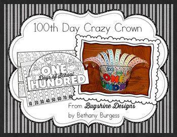 day  school crazy crown printable tpt