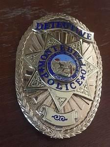 Pd Chart Montebello Pd Calif 3 Law Enforcement Badges Los
