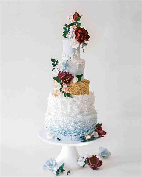 Metallic  Ee  Wedding Ee   Cakes Make A Shimmering Statement
