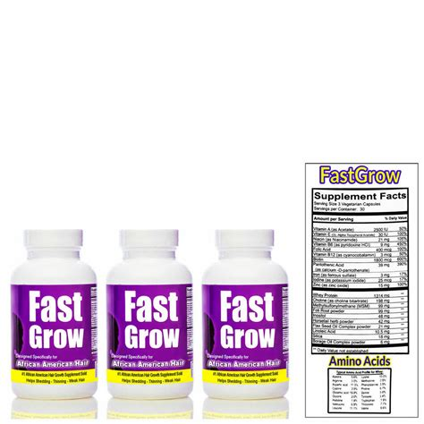 hair grow vitamins fast african american faster growth amazon amazoncom