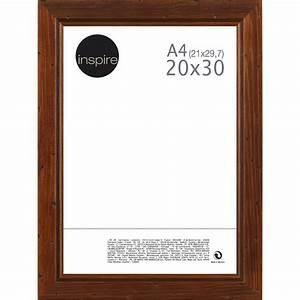 Cadre Avec Photo : cadre saranca 20 x 30 cm marron leroy merlin ~ Teatrodelosmanantiales.com Idées de Décoration
