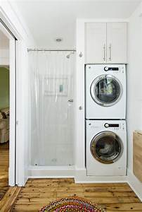 Bathroom washer and dryer contemporary laundry room for Bathroom ideas with washer and dryer