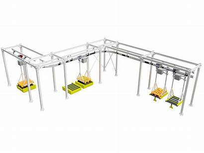 Overhead System Monorail Previous Conveying Conveyor