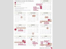 Calendario escolar de Andalucía 20182019