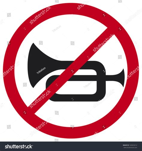 No Horn Traffic Sign Stock Vector 169653212  Shutterstock. Thinner Signs. Safety Signs Of Stroke. Head And Neck Signs. Dog Gum Signs Of Stroke. 19 April Signs Of Stroke. Comic Signs. Wait Signs. Inherited Signs