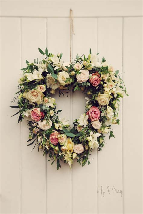 Decoration By Flowers - a rustic flower door decoration by may floral