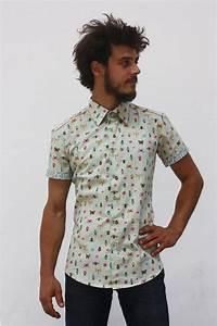 Chemise Homme Motif Original : chemise motif homme manche courte insectes ba sap ~ Nature-et-papiers.com Idées de Décoration