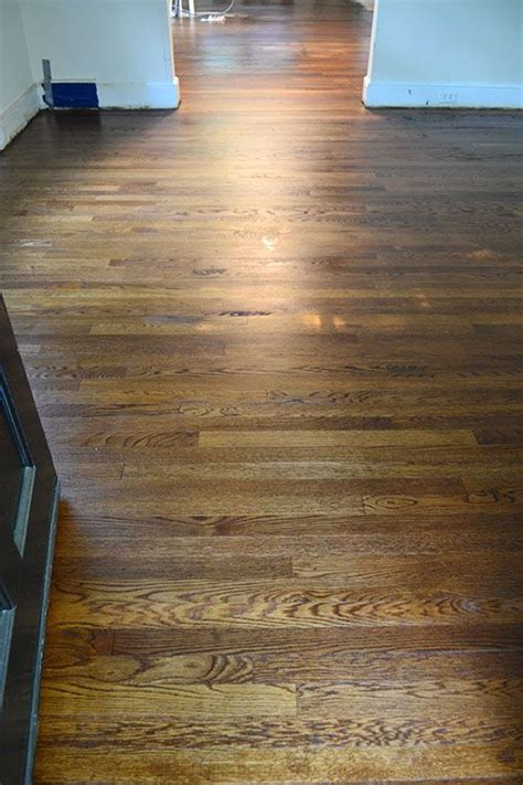 minwax provincial  dark walnut oak floor stains