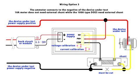 Digital Volt Amp Meter Wiring Diagram Gallery
