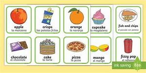 Healthy And Unhealthy Food Chart Images Healthy And Unhealthy Sorting Activity English Spanish